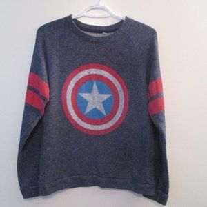 *2/15$* - Captain America Sweater - M